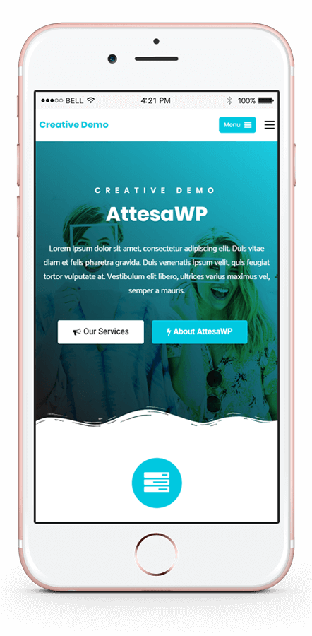 Attesa Theme Features